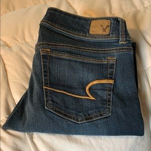 American Eagle Super Stretch Kickboot Jeans 8S